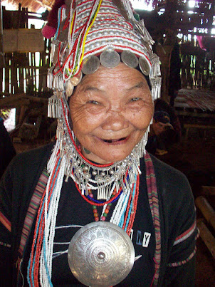 White Karen Tribe Elder