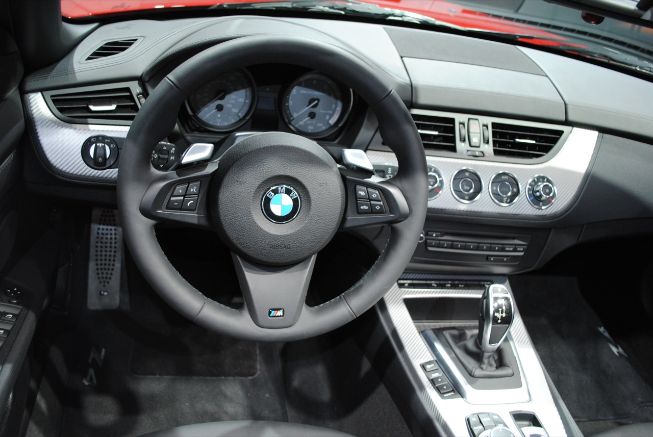Car Industry Bmw Z4 2011 Interior