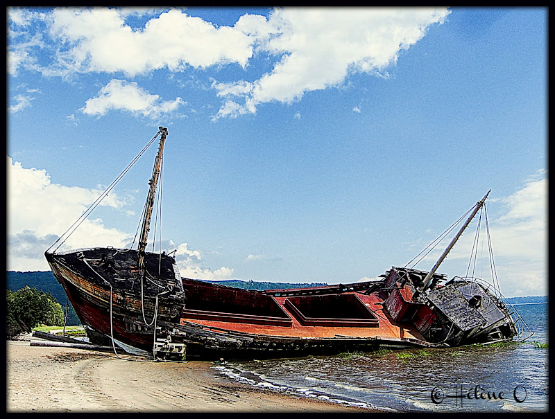 un vieux bateau échoué Bateau3