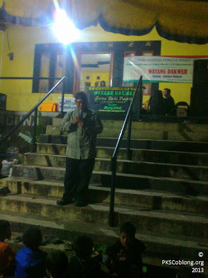 Sambutan Ust Asep Rodhi selaku pembina FUPMAS