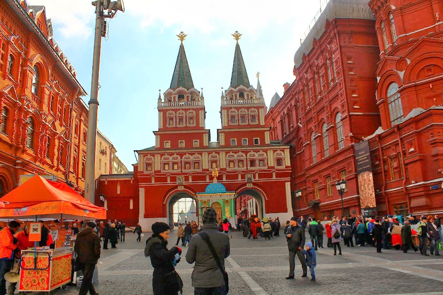 Red Square Gate