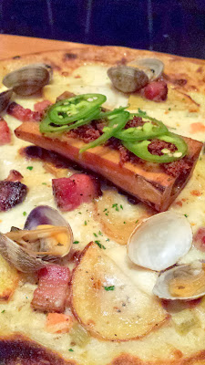 Oven and Shaker Chef Series, from Ox the Clam Chowder Smoked Bone Marrow Pizza for December 2013