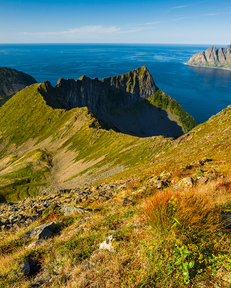 One of the most beautiful walks I made this year was this one on the Senja island…