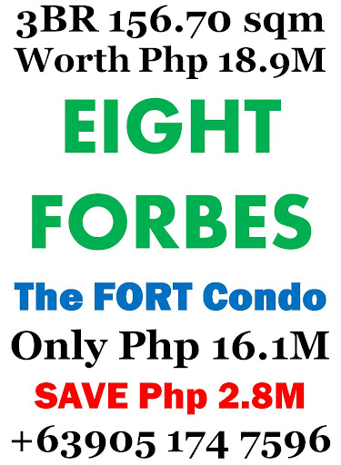3 bedroom the fort condo eight forbes sulit