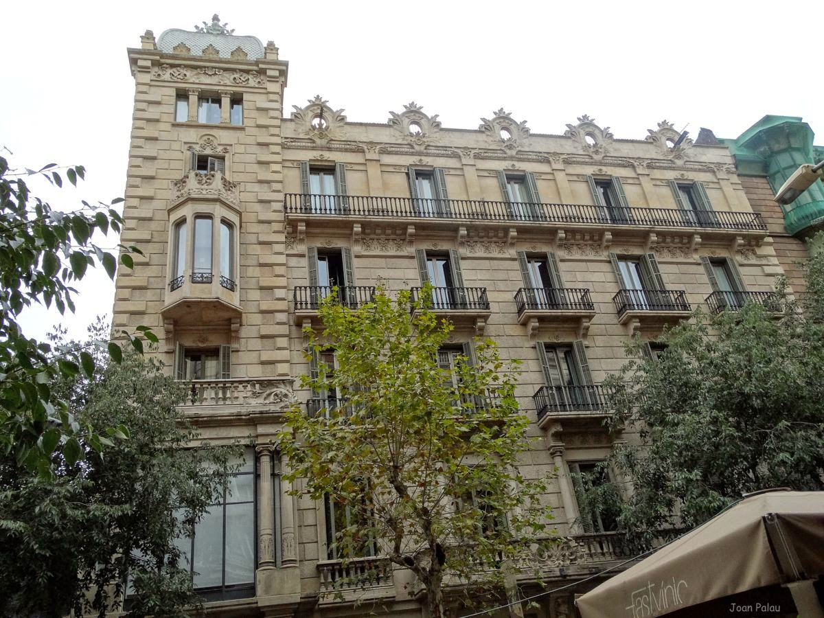 Casa garriga nogu s barcelona modernista i singular - Casa la garriga ...