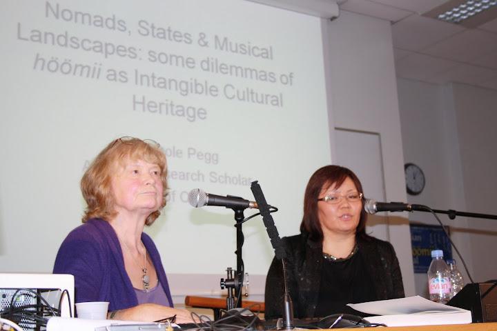 монгол хөөмийн соёлын өв анхдугаар бага хурал лондон хотноо
