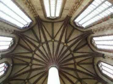 Chor der hochgotischen Kirche des Jakobinerkonvents (Eglise, Ensemble Conventuel des Jacobins), Toulouse
