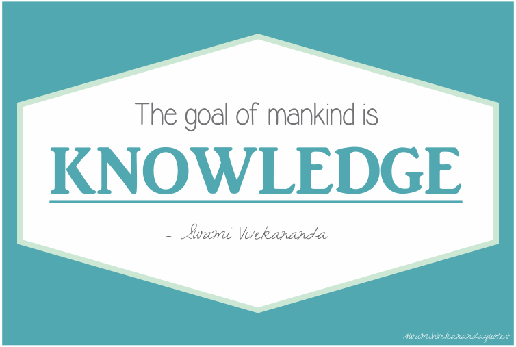 Swami Vivekananda Life Quotes on Goal of Mankind