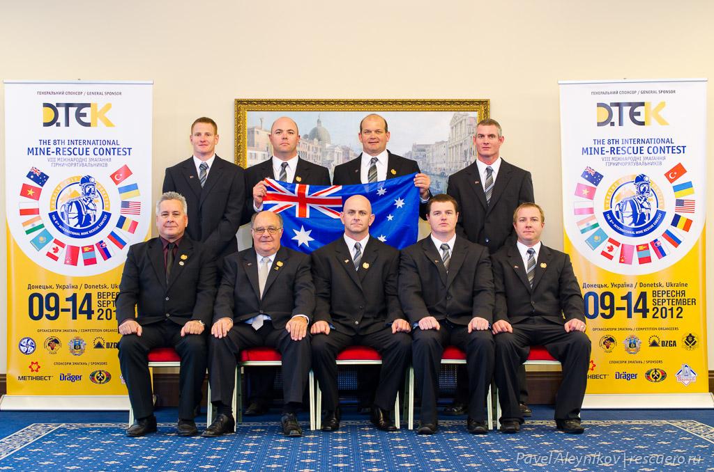 Команда Австралии