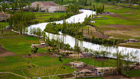 Silence of Phander village, Ghizer Valley