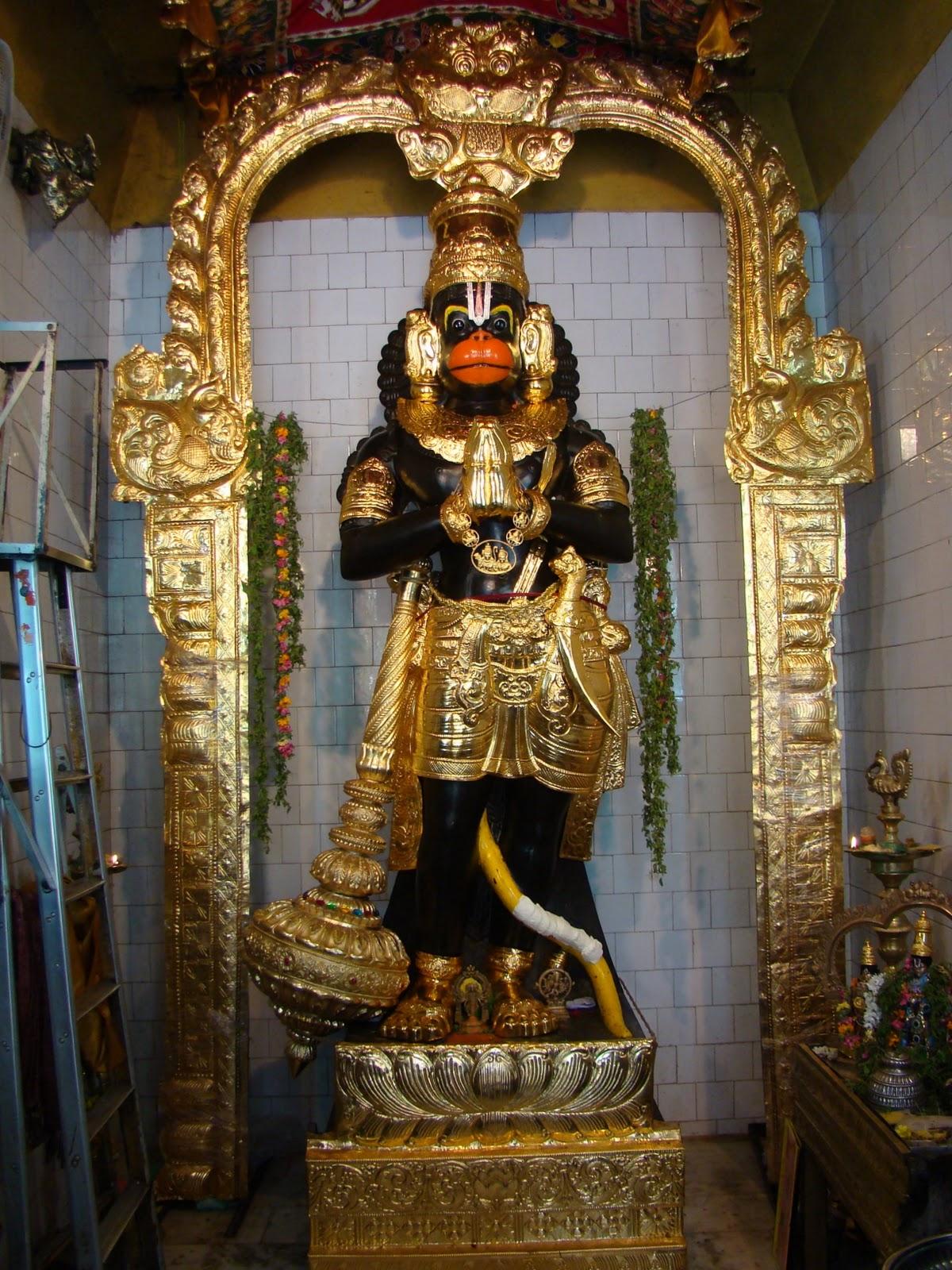 Nanganallur Anjaneyar Temple