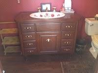 Eleven Gables: Redecorating the Formal Half Bath