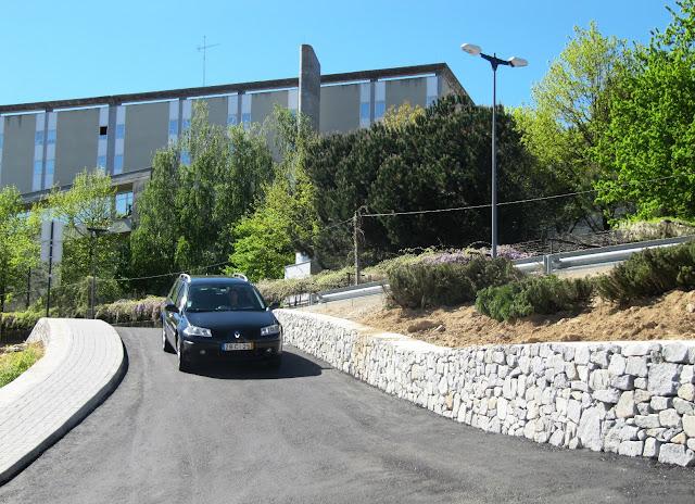 Câmara de Lamego constrói novo acesso para a urbanização da Vista Alegre