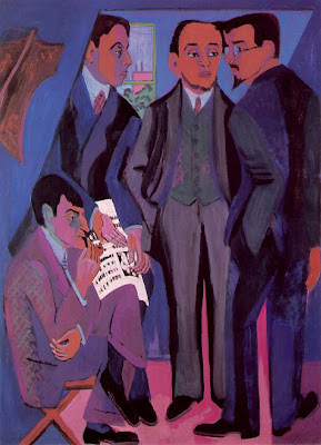 Ernst Ludwig Kirchner- a group of artists