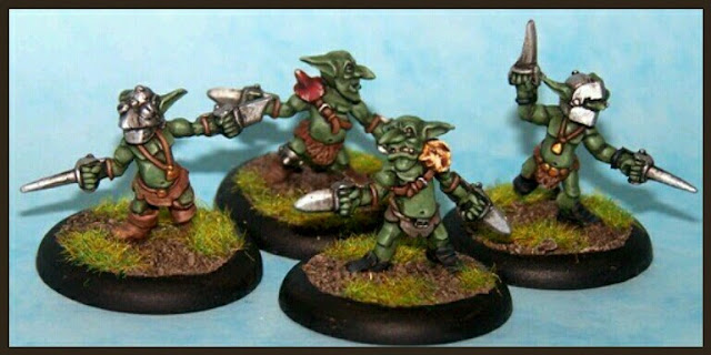 Goblins Four A Miniatures
