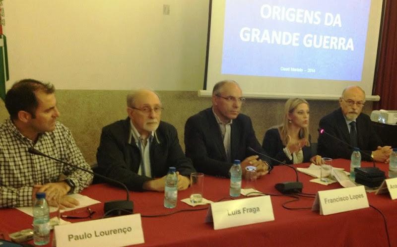 Conferência recorda participação portuguesa na I Guerra Mundial