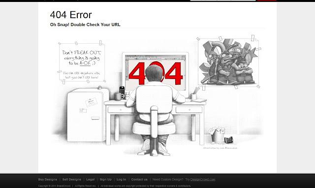*充滿創意的404錯誤頁面|404 Not Found Error Web page 7