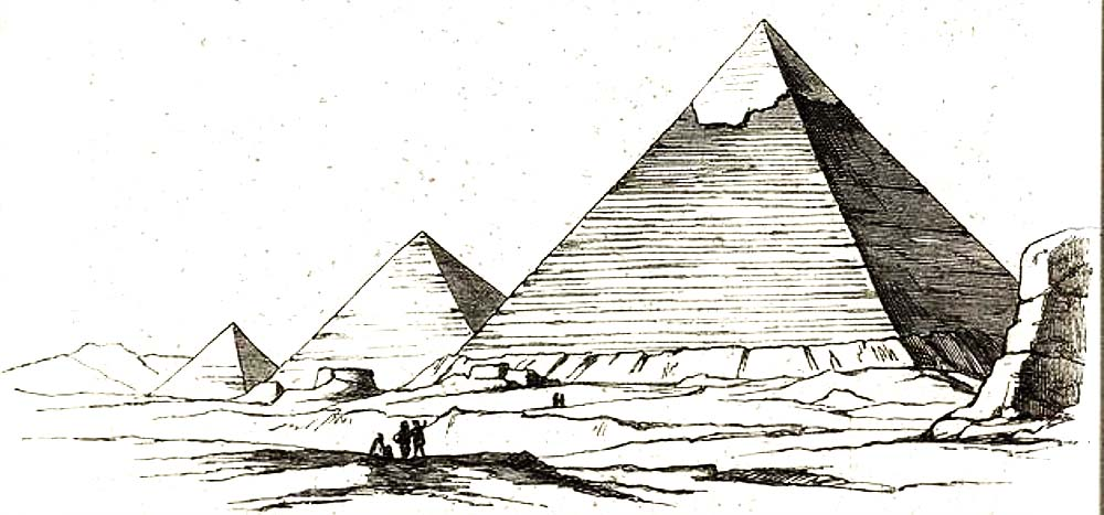 Semper El estilo El revestimiento en Egipto
