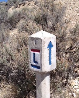 Lincoln Highway route marker