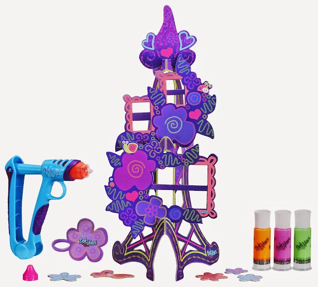 Bao gồm 1 súng vẽ, 4 ống bột màu và 1 khung ảnh tháp hoa