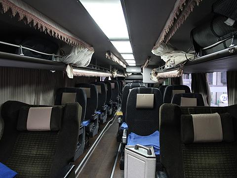 西日本鉄道「はかた号」 0002 2階席車内 全景