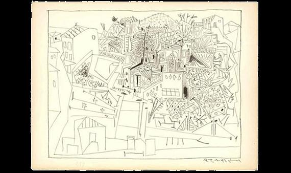 El Museo Picasso de Buitrago acoge la obra 'Paysage de Vallauris'