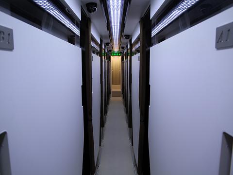 中国バス「ドリームスリーパー」 G1202 車内