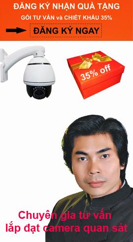Nhấp chọn để đăng ký nhận quà khuyến mãi, Tiền thưởng lên đến 35% giá trị đơn hàng camera IP