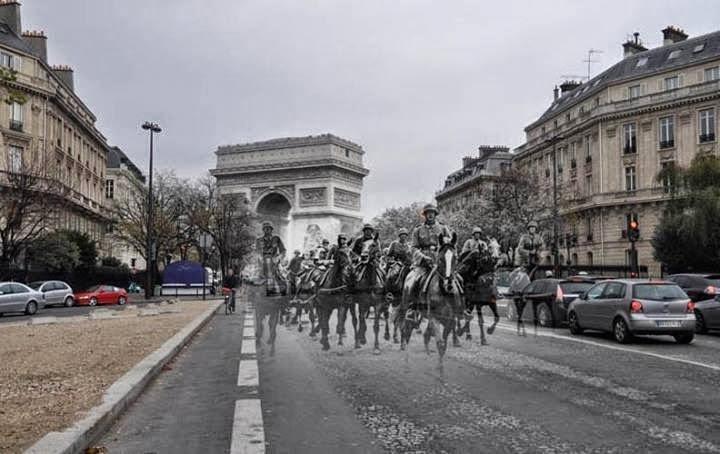 Nazistas em Paris