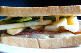 Bacon Apple Brie Grilled Cheese
