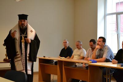 На открытии богословских курсов в Одессе