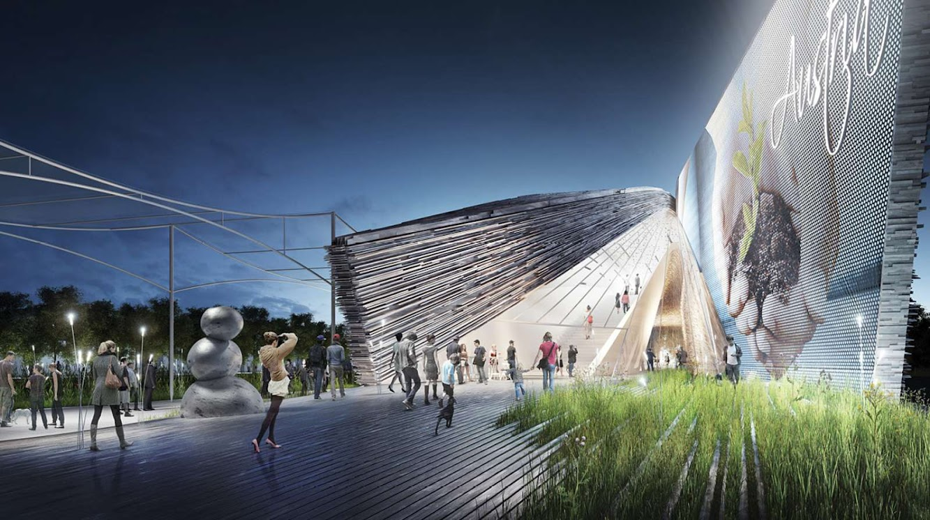 Austrian Pavilion Expo 2015 by Bence Pap and
