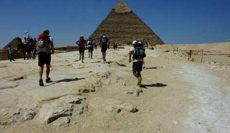4 deserts, Egipto