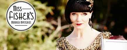Miss Fisher's Murder Mysteries logo