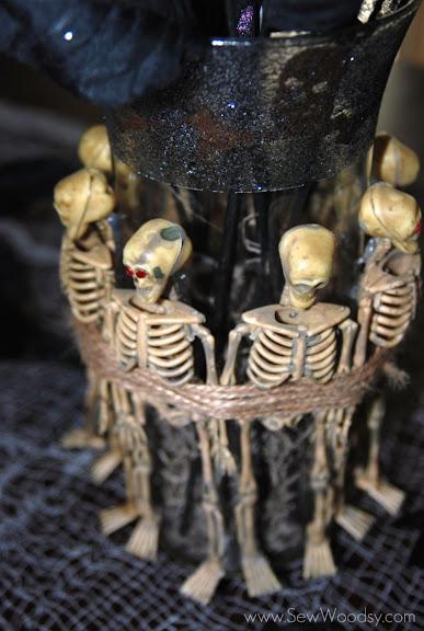 Skeleton Vase
