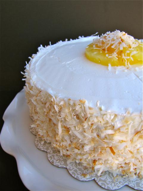 Sky High Vanilla Buttermilk Cake Pineapple