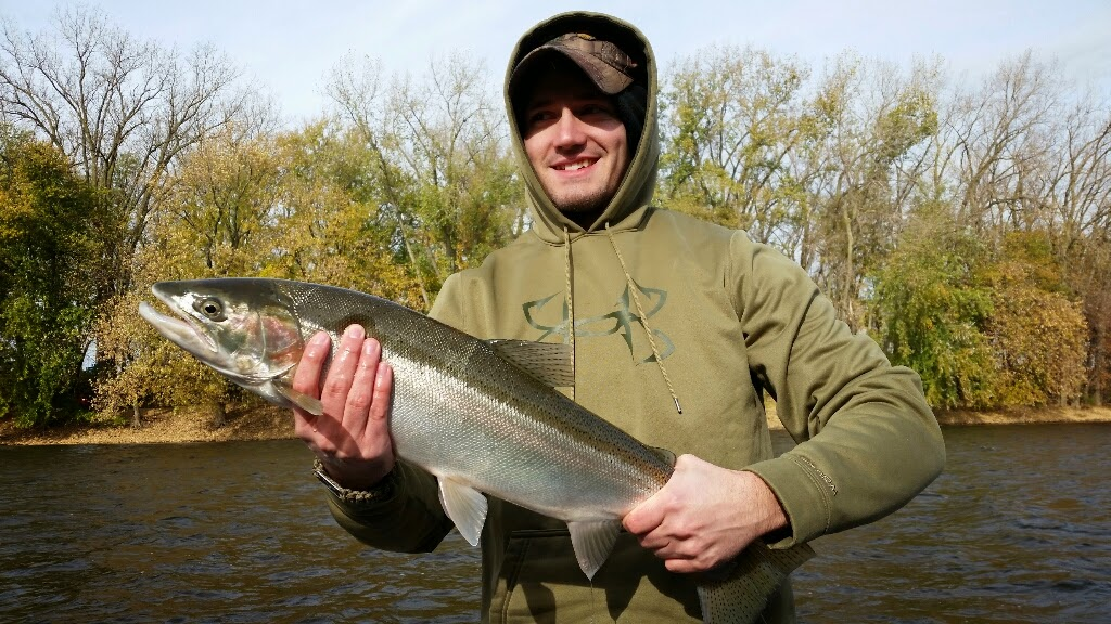 Grand Rapids Steelhead Fishing Charter Service