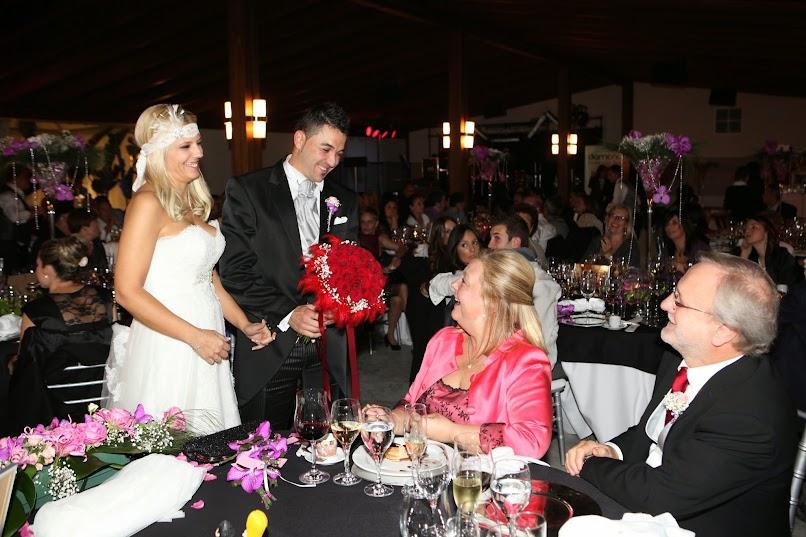 boda, invitados, ceremonia, banquete