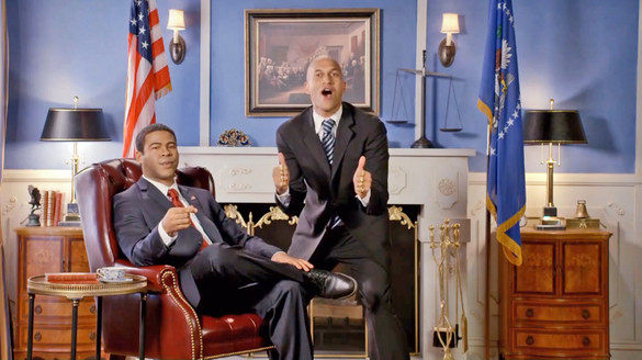 """Key & Peele"" Deliver A Victory Message On Behalf Of President Barack Obama"