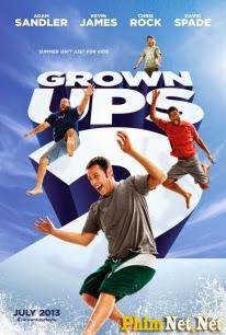 Phim Những Đứa Trẻ To Xác 2 - Grown Ups 2