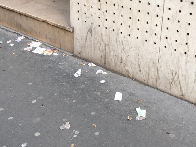 Photos malpropreté du 9ème arrondissement de Paris