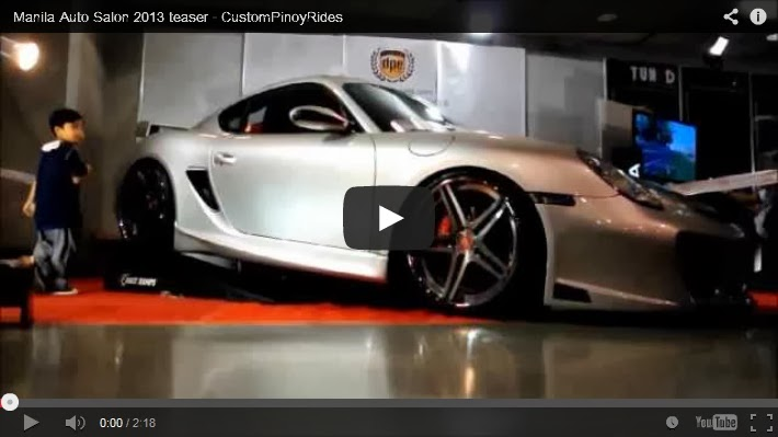 2013 Manila Auto Salon Video Teaser by Custom Pinoy Rides Errol Panganiban