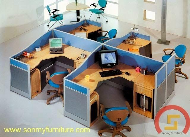 Mẫu thiết kế nội thất văn phòng SMF728
