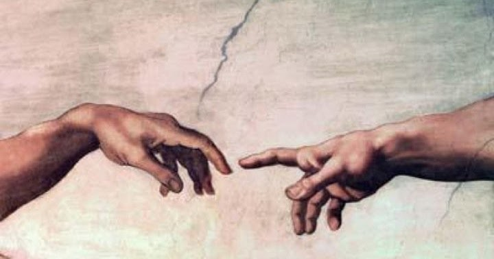Concept 20 of Sistine Chapel Ceiling Hands ...