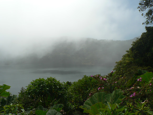View of lagoon near Poas volcano, Costa Rica