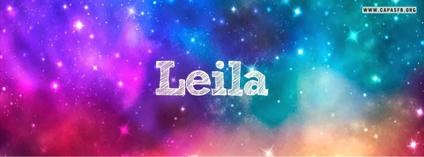 Capas para Facebook Leila