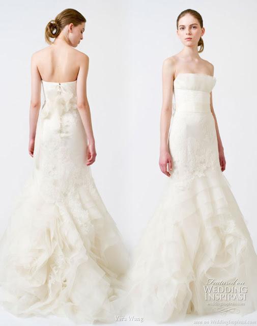 September daze vera wang spring 2011 bridal for Wedding dresses spring tx