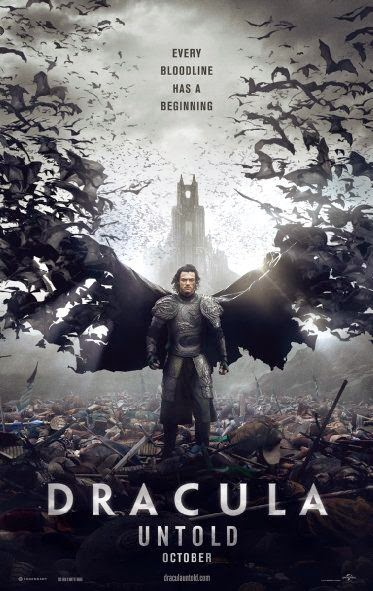 Poster Of English Movie Dracula Untold (2014) Free Download Full New Hollywood Movie Watch Online At Alldownloads4u.Com