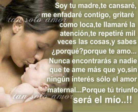 pensamientos a una madre