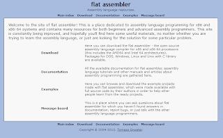 OBE Messages: setting up fasm assembler inside windows